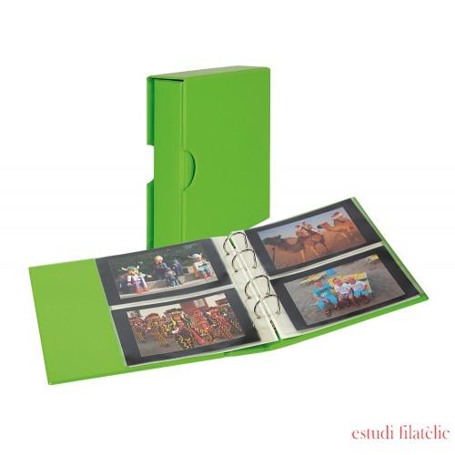 Lindner S3542PK-4 Álbum universal PUBLICA M COLOR para postales  Verde