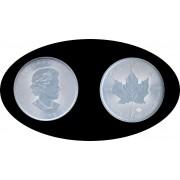 Canadá Canada 2020 1 Oz Plata Silver 5 $ Maple Leaf