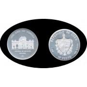 Cuba 10 pesos 1991 1 onza Puerta de Alcalá de Madrid plata silver
