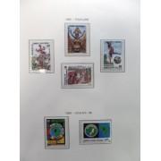 Colección Collection Guinea Ecuatorial 1986 - 1998 MNH