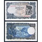 Billete 500 Ptas 23/07/1971 Jacinto Verdaguer
