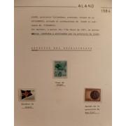 Colección Collection Aland 1984 - 1995 MNH