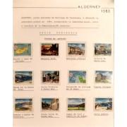 Collección Colection Alderney 1983 - 1994 MNH