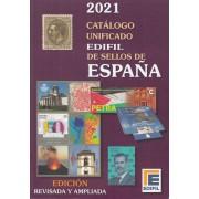 Catálogo Unificado Edifil Sellos de España Ed. 2021