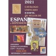 Catálogo Edifil España y Dependencias postales ed. 2021