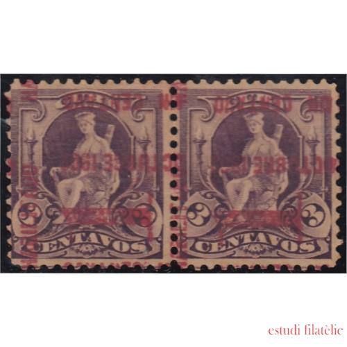 Cuba 147b 1902 Alegoría sin goma