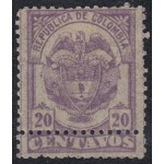 Colombia 98a 1890 Escudo Shield MH