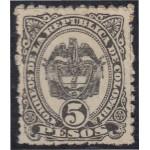 Colombia 92 1889 Escudo Shield MH