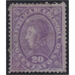Colombia 88a 1886 Político Antonio Nariño MH