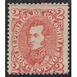 Colombia 85a 1886 Gral. José Antonio Sucre MH