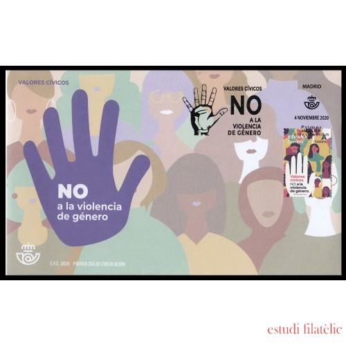 España Spain 5443 2020 Valores cívicos NO a la violencia de género SPD Sobre Primer Día