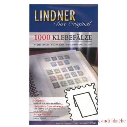 Lindner  7040 Fijasellos Papel engomados  - Paq. 1000 unidades