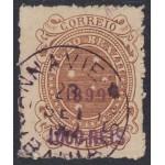 Brasil Brazil 110a 1899 Cruz del Sur usado