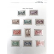 Colección Collection Andorra Francesa 1932 - 2008 completa