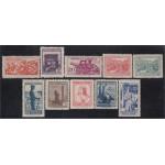 España Spain NE 46/55 1939 No Emitido Correo de Campaña MNH
