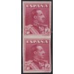 España Spain 322s 1922/30 Alfonso XIII Pareja sin dentar MNH