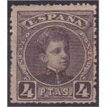 España Spain 254 1901/1905  Alfonso XIII MH