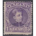 España Spain 246 1901/05 Alfonso XIII MNH