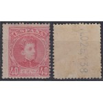 España Spain 251 1901/05 Alfonso XIII MNH