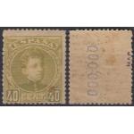 España Spain 250 1901/05 Alfonso XIII MH