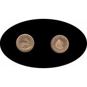 Sudafrica South Africa 2 Rands 1976 KM#64 oro  gold Au