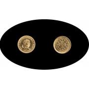 Bélgica Belgium Belgique 25 ecus 1989 Diocletianus Oro gold Au