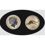 Australia Canguro 2006 1 onza 1$ 999 Ag Plata