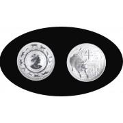 Australia 2021 1 Dólar 1 onza 999 Ag  Año del Buey