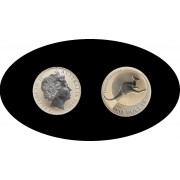 Australia 2004 1 onza 1 dólar Canguro