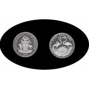 Bahamas 1974 30,92 gr 2 Dólares Elizabeth II