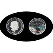 Australia 2005 1 onza 1 dólar Cocos Islands Pájaro