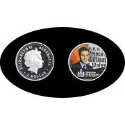 Australia 2003 1 onza 1 dólar  Príncipe William de Gales