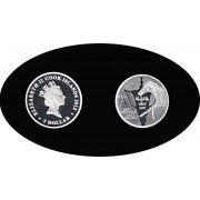 Cook Islands 2012 1 dólar 31,1 g Copa Oro Ascot Plata