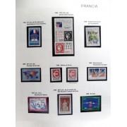 Colección Collection Francia France 1986 - 2003 MNH