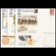 Sobres Enteros Postales 57 a/e Filatelia 99