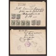 Historia postal - HP1950 - CARTA SAN CARLOS FERNANDO POO PHILADELPHIA 1950 DOUALA