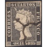 España Spain 1 1850  Isabel II usado