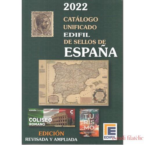 Catálogo Unificado Edifil Sellos de España Ed. 2022