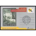 Argentina Tarjeta Postal 1997 44ª Asamblea del Consejo Internacional de la Caza y de la Conservación de la Fauna