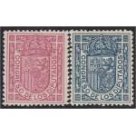 España Spain 230/31 1896-1898 Escudo de España MNH