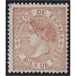 España Spain 96 1867 Isabel II MH
