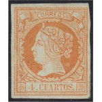 España Spain 52 1860 - 1861 Isabel II MNH