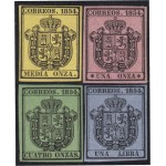 España Spain 28/31 1854 Escudo de España MNH