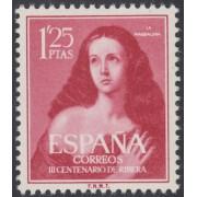 España Spain 1129 1954 III Centenario Ribera El Españoleto MNH