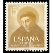 España Spain 1183 1955 V Centenario Canonización de San Vicente Ferrer MNH