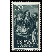 España Spain 1184 1955 Navidad Christmas MNH