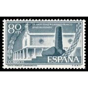 España Spain 1199 1956 XX Aniv. de la exaltación del General Franco a la jefatura del estado MNH