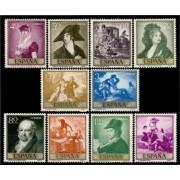 España Spain 1210/19 1958 Goya MNH