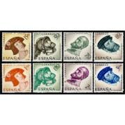España Spain 1224/31 1958 Centenario de Carlos I de España y V de Alemania MNH