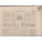 España Spain Timbres de Periódicos P.18 1871 Boletin Oficial